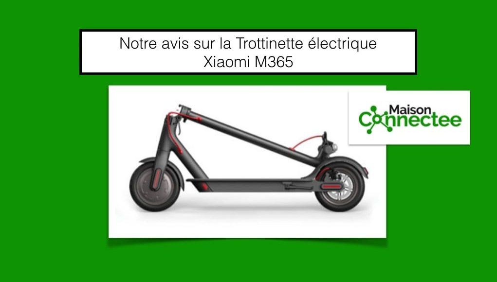 Trottinette electrique Xiaomi M365