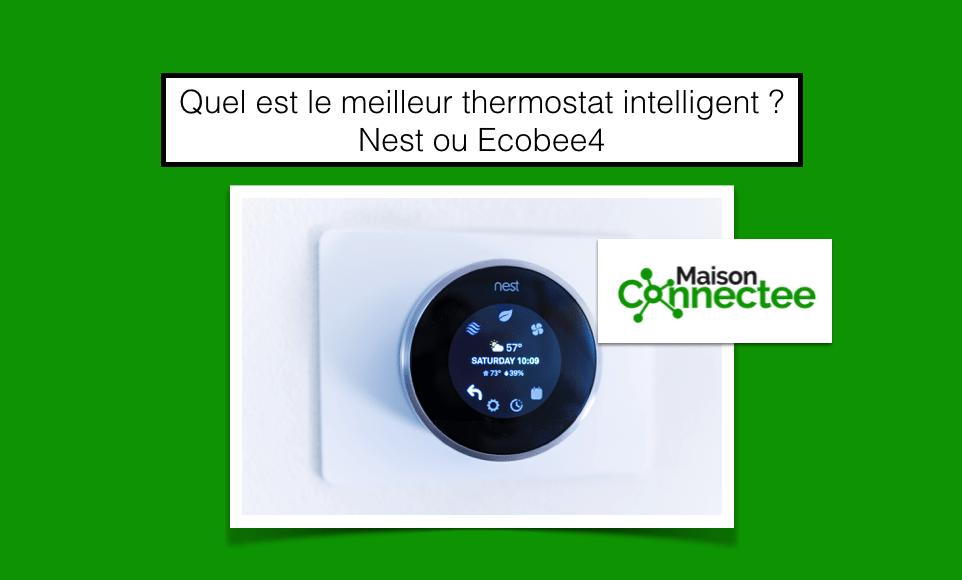 meilleur thermostat intelligent